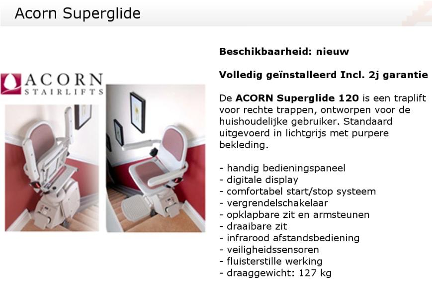 Acorn Superglide