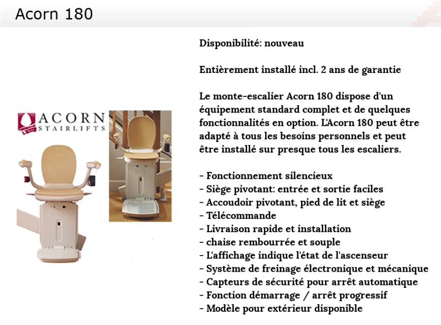ACORN 180 frans